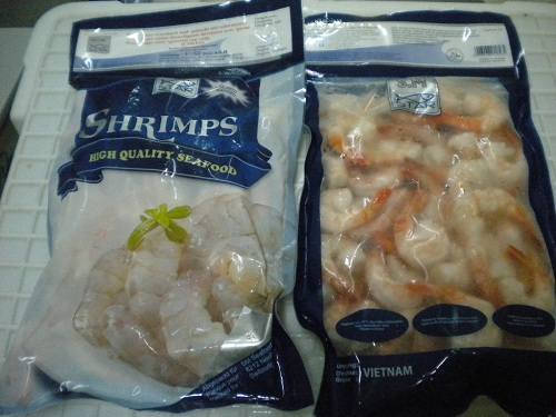 Cooked Peeled Deveined Tail On Black Tiger Shrimp (CPDTO)