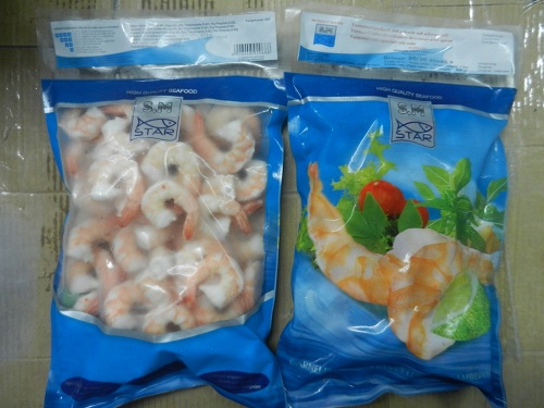 Cooked Peeled Deveined Tail On Vanamei Shrimp (CPDTO)
